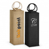 Napoli Jute Wine Carrier-copy direct