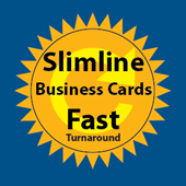 Slimline Business Card