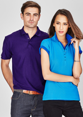 Mens-Ladies Crew Polo CPBP400MS - Copy Direct