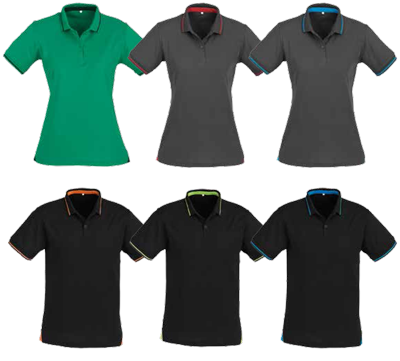 Mens Ladies Jet Polo