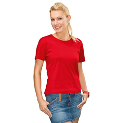 T-Shirt-Womens-Red