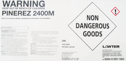 Non Danergous Goods Label