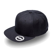Snap Back Flat Peak Cap