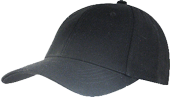 Value 6 Panel Brushed Cotton Cap