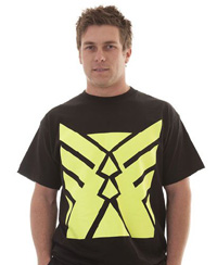 T-Shirts HV6000 Black Yellow-copy direct