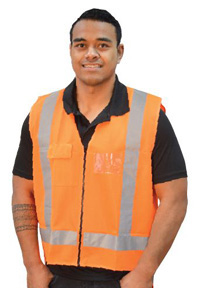 Vests PA J536 orange-copy direct
