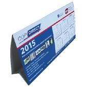 100 Annual Desk Calendars $3.49 Each