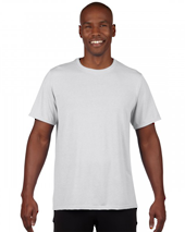White Performance Adult T