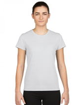 White Performance Ladies T