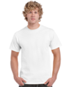 White Heavy Cotton Adult T